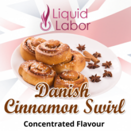 Ароматизатор DANISH CINNAMON SWIRL (Liquid Labor) EU